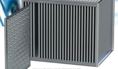 Cross Flow plate Heat Exchanger – Εναλλάκτες Αέρα-Αέρα